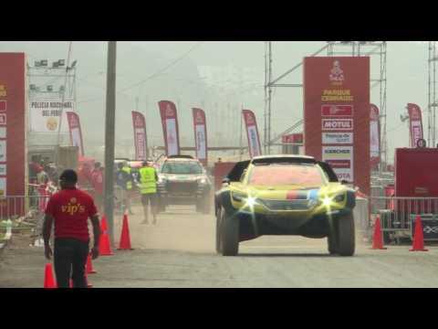 Dakar Rally participants head out for race