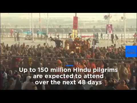 Hindus get Kumbh Mela religious festival under way