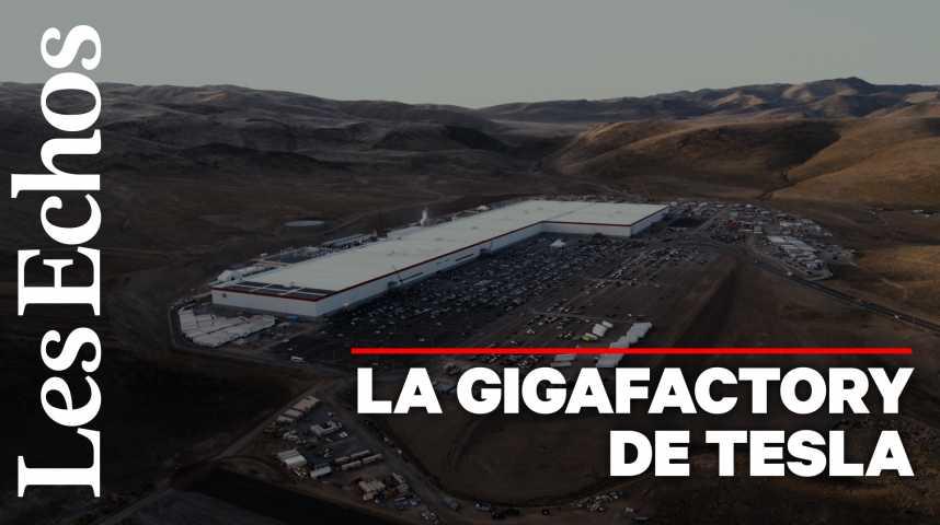 Illustration pour la vidéo Tesla : visite de la Gigafactory du Nevada