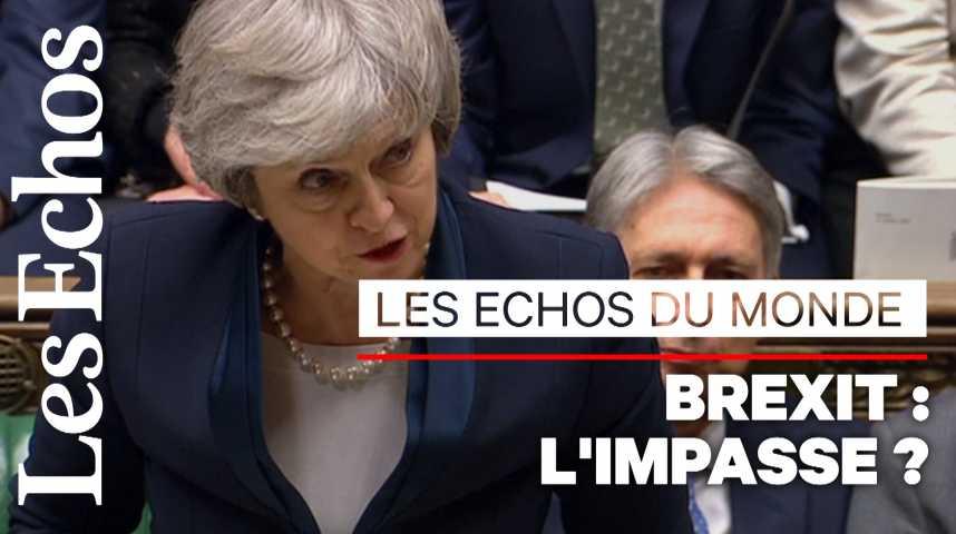 Illustration pour la vidéo Brexit : après le rejet de l'accord, aucune alternative n'émerge
