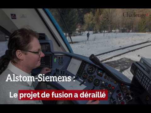 Alstom-Siemens, un projet de fusion qui déraille