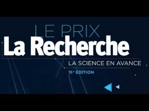 Remise des prix du magazine La Recherche le 13 février !