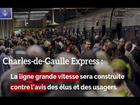CDG Express: la ligne sera construite contre l'avis des usagers