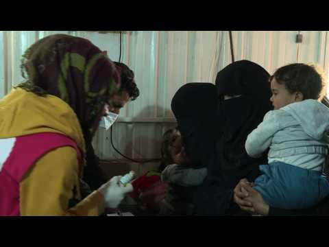 Barely alive after IS, Syrian babies haunted by malnutrition