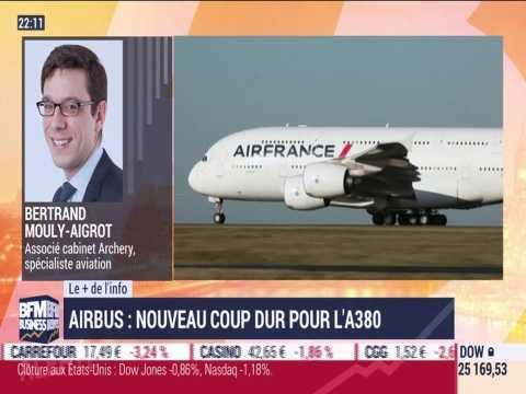 Le + de l'info: Airbus, nouveau coup dur pour l'A380 - 07/02