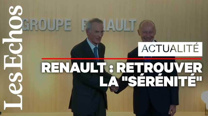 Illustration pour la vidéo Gouvernance Renault : le tandem après-Ghosn veut retisser les liens avec Nissan