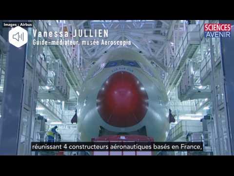 La naissance d'un avion A380 en accéléré