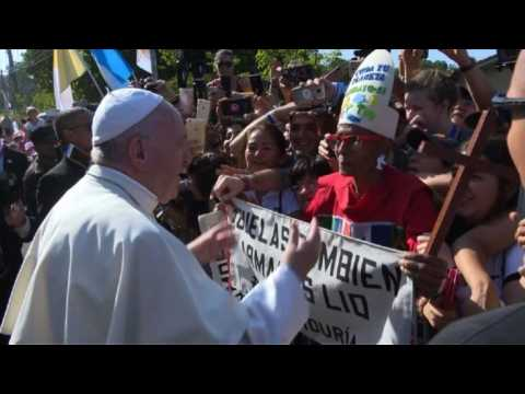 Pope Francis sings Happy Birthday to 'young' grandmother