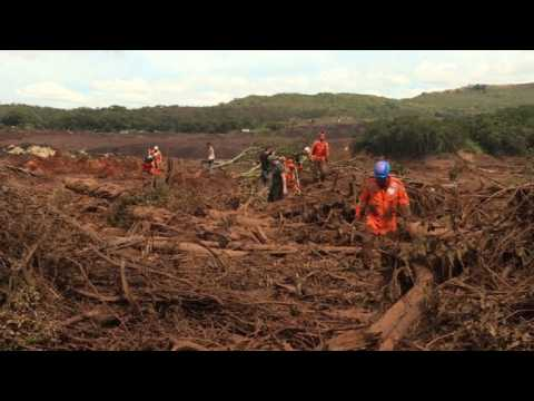 Brazil: rescuers search survivors in the mud after dam collapse