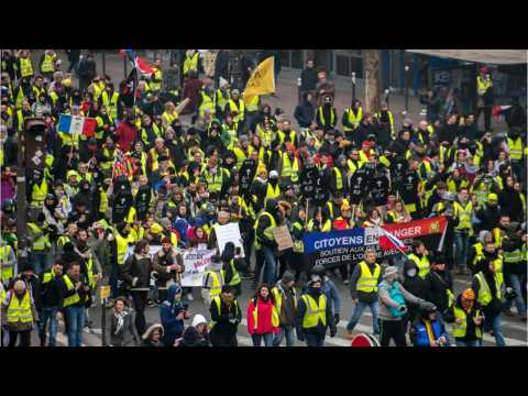 French 'Yellow Vests' Defy Macron In 11th Consecutive Week Of Protests