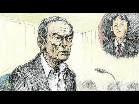 Ghosn Makes First Public Appearance In Court