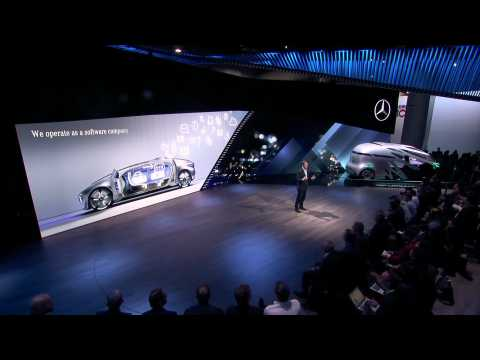 Mercedes-Benz Cars at the CES in Las Vegas - Speech Ola Källenius - Part 1