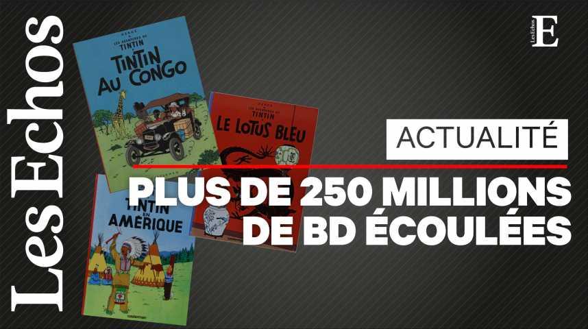 Illustration pour la vidéo « Mille milliards de mille sabords ! » : Tintin fête ses 90 ans