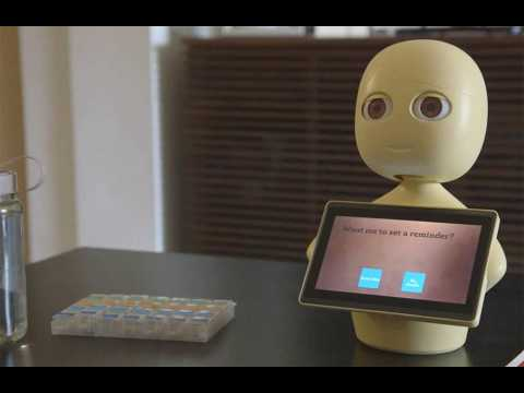 AI-powere robot could help elderly beat loneliness