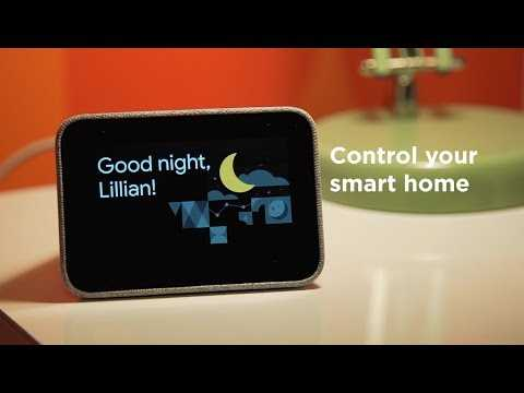 Lenovo Smart Clock with the Google Assistant In Action at CES 2019