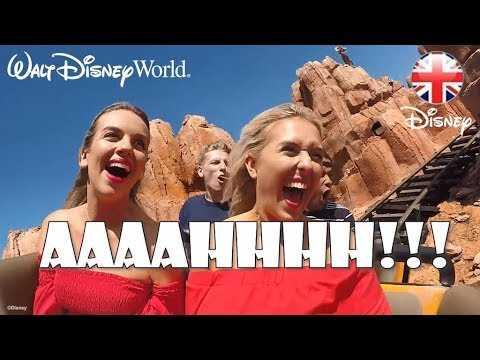 WALT DISNEY WORLD | Em Sheldon, Elle Next Door & Creators Try Disney Rides! | Official Disney UK