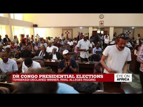 DR Congo opposition leader Tshisekedi declared winner of presidential poll