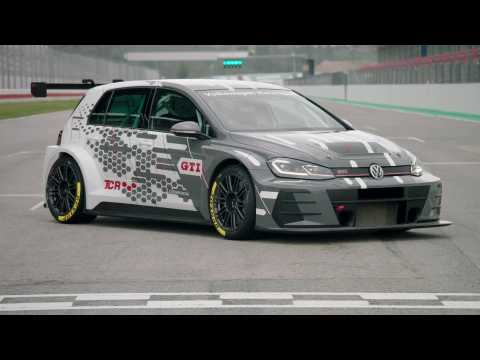 The new Volkswagen Golf GTI TCR Racing Car Exterior Design