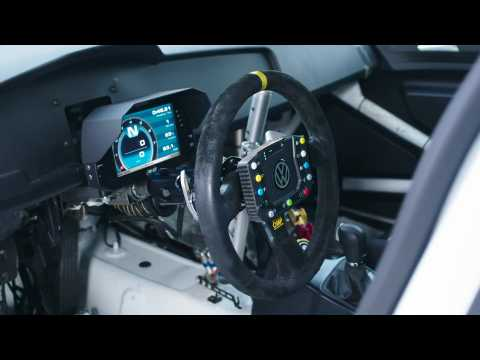 The new Volkswagen Golf GTI TCR Racing Car Interior Design