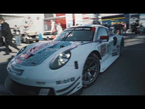 Porsche at Rolex 24 in Daytona (USA) - Another magic lap