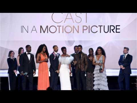 Black Panther Surprises At SAG Awards