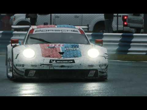 Porsche at Rolex 24 in Daytona (USA) - Well deserved podium