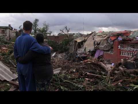 At least three dead, 172 injured in Havana tornado