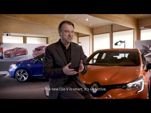 2019 New Renault CLIO - Exterior design interviews