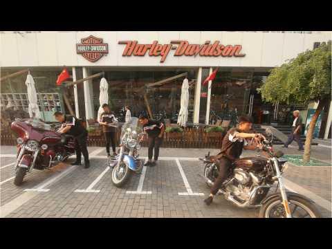 Harley-Davidson Blames Trump's Tariffs For Losses