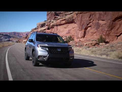 2019 Honda Passport Elite Driving Video