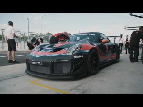 The Porsche 911 GT2 RS Clubsport on Mount Panorama Circuit