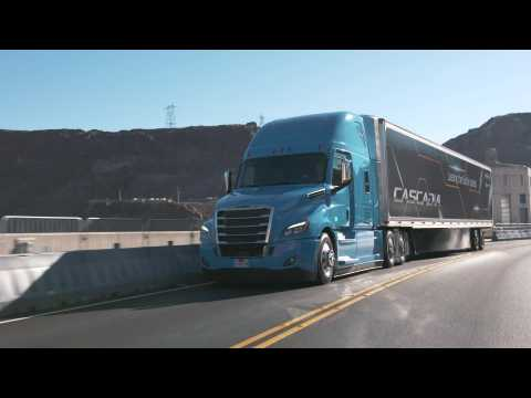 2019 CES Las Vegas - world premiere of the new Freightliner Cascadia