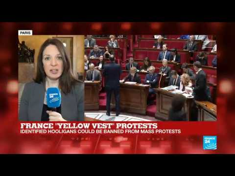 French lawmakers approve controversial anti-riot bill