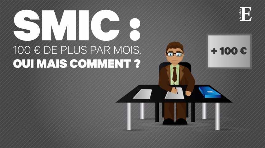 Illustration pour la vidéo 100 € de plus pour le SMIC : qu'est-ce qui change en janvier ?