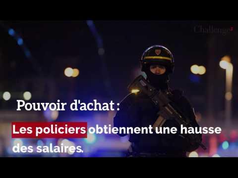 Pouvoir d'achat: le salaire des policiers revalorisé