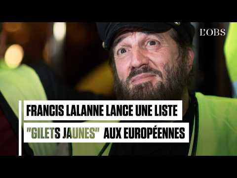 """Francis Lalanne annonce une liste """"gilets jaunes"""" aux élections européennes"""
