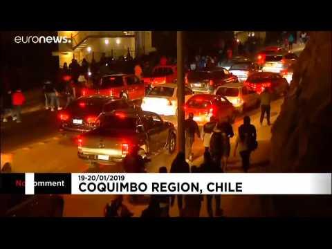 Le Chili frappé par un puissant tremblement de terre
