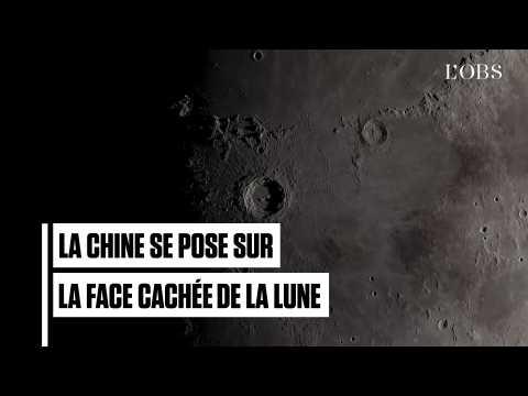 La Chine se pose sur la face cachée de la Lune, une première