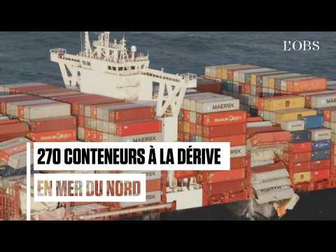 Un navire perd 270 conteneurs en mer du Nord, dont 3 toxiques