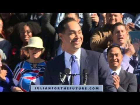 Julian Castro announces 2020 presidential bid