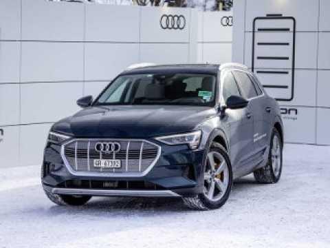L'Audi e-tron au Forum Economique de Davos 2019