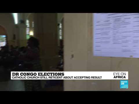 DR Congo Catholic Church still reticent about accepting election result