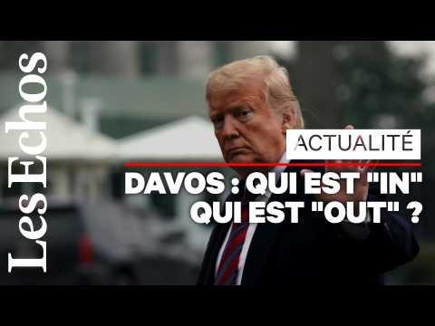 Davos 2019 : trois grands absents et de nouveaux entrants