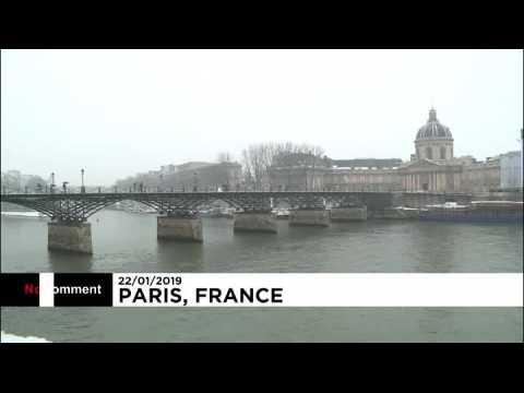 Paris sous un manteau blanc