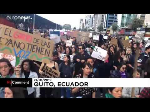 Equateur : manifestation contre les agressions dont les femmes sont victimes