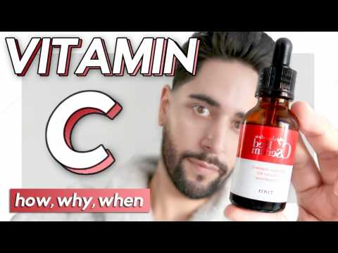 Vitamin C - Why, How & When To Use - Serum Benefits.  James Welsh