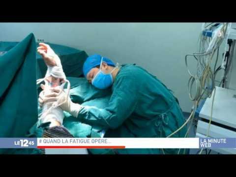 En Chine, un chirurgien s'endort après une opération
