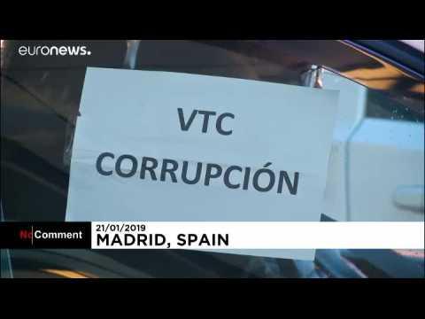 Espagne : les taxis partent en guerre contre les VTC