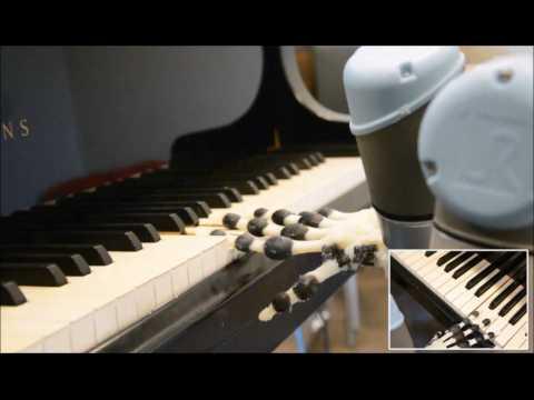 Écoutez ce robot de l'université de Cambridge jouer du piano