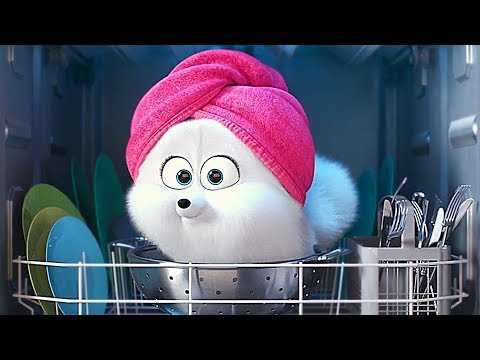"THE SECRET LIFE OF PETS 2 ""The Gidget"" Trailer (Animation, 2019)"